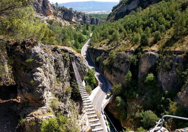 El estrecho Priego, la belleza natural que une la Alcarria y la Serranía de Cuenca